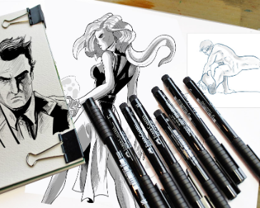 Digital Inking Your Illustrations and Comic Book