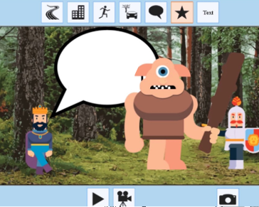 Teach to Children to Draw and Animate with KIDS CARTOON MAKER