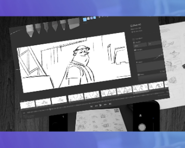 The Free Software STORYBOARDER