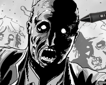 How to Draw like the Walking Dead style