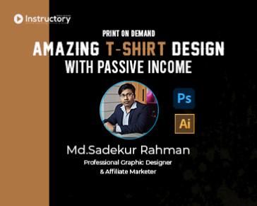 32.Illustrator Typography T-shirt Design With Presentation