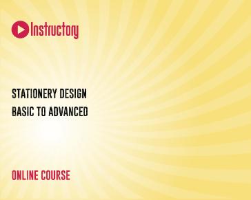 Stationery Design - Basic to Advanced