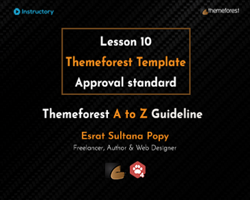 Themeforest Template Approval standard