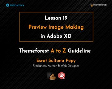 Preview Image Making in Adobe XD