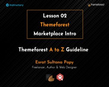 Themeforest Marketplace Intro