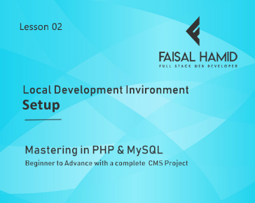 Lesson 2 - Intro With Local Server - Local Development Environment Setup