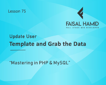 Lesson 75 - Update User Template and Grab the Data