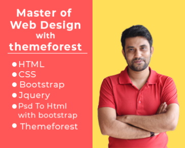 Theme Forest Design Alignment and Spacing Issue - Class - 14