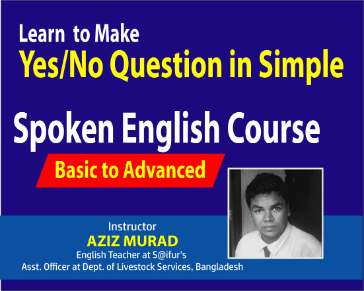 Learn  to Make Yes No Question in Simple Tense