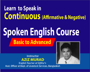Learn to Speak English in Continuous (Affirmative & Negative)