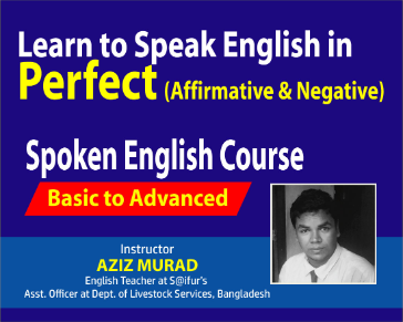 Learn to Speak English in Perfect (Affirmative & Negative)