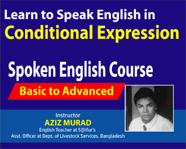 Learn to  Speak English in Conditional Part 01