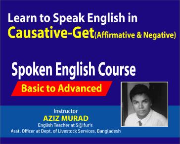 Speak English in Causative Part 03