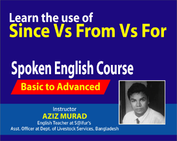 Learn to Speak English with Since/From