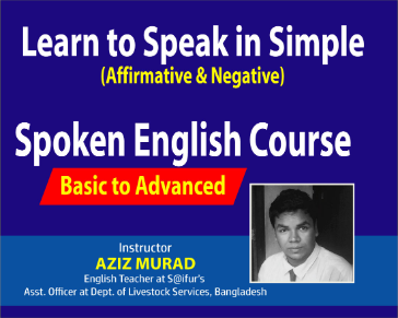 Learn to Speak English in Simple (Affirmative & Negative)