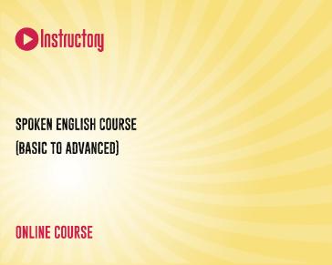 Spoken English Course (Basic to Advanced)