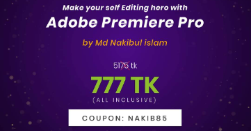 Make your self Editing hero with Adobe Premiere pro post image