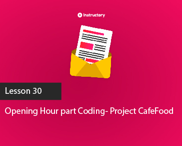 Project CafeFood|| Opening Hour  || PSD To Html Email