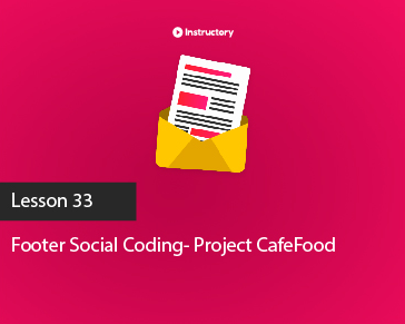 Project CafeFood|| Footer Part-2 || PSD To Html Email