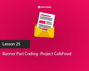 Project CafeFood|| Banner Part|| PSD To Html Email