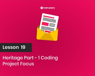 Project FOCUS    Heritage Part-1  Coding