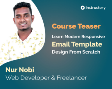 Teaser    Learn Modern Responsive HTML Email Template Design