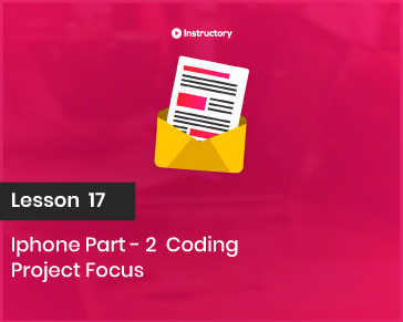 Project FOCUS    Iphone Part-2  Coding