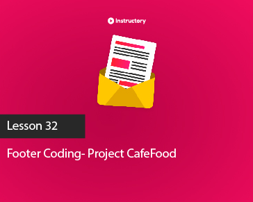 Project CafeFood|| Footer  Part-1 || PSD To Html Email