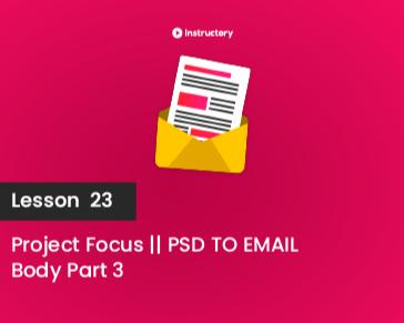 Lesson-23 || Body Part 3
