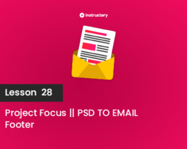 Lesson 28 || Footer