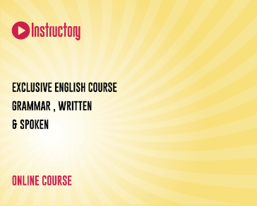 Exclusive English Course ( Grammar , Written & Spoken)