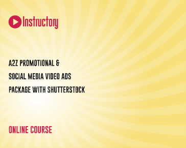 A2Z Promotional & Social Media Video Ads Package with Shutterstock