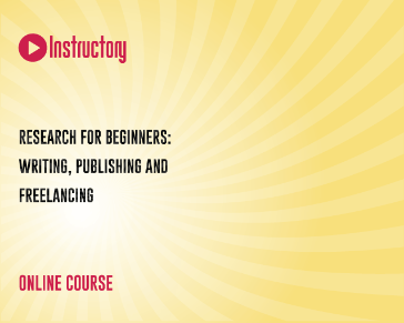 Research for Beginners: Writing, Publishing and Freelancing