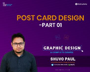 Post Card Design - Part 01