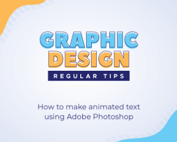 How to make animated text using Adobe Photoshop