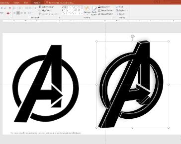 Lesson 4: Avengers logo