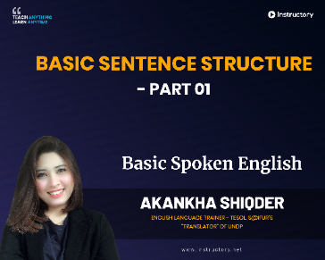 Basic Sentence Structure - Part 01