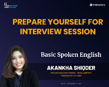 Prepare yourself for Interview Session