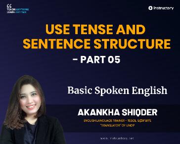 Sentence Structure - Part 05