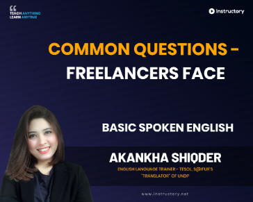 Common Questions - Freelancers Face