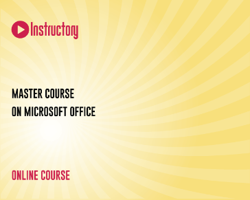 Master Course On Microsoft Office