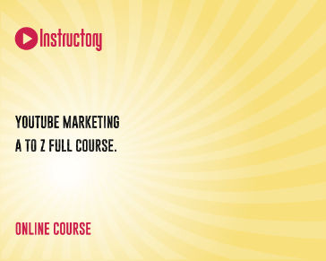 YouTube Marketing A to Z Full Course.