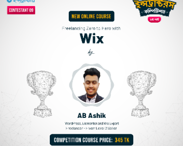 Lesson - 14 : Design Full website using wix template !