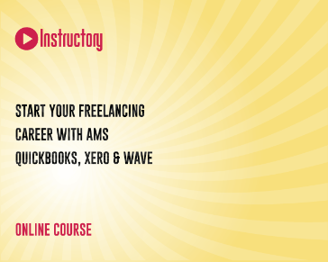 Start Your Freelancing Career with AMS-Quickbooks, Xero & Wave