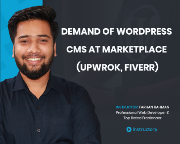 Demand of WordPress CMS at marketplace (Upwrok, Fiverr)