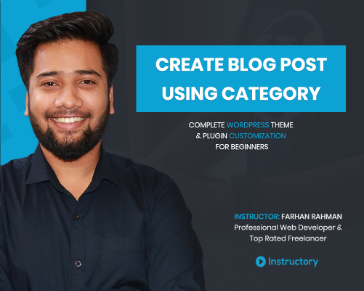 Create Blog Post using Category - Part 1