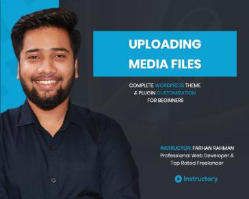 Uploading Media files ( PNG, JPG, MP4 etc)