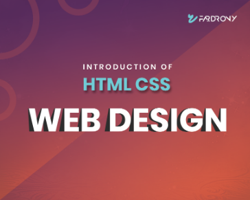 Introduction of HTML CSS