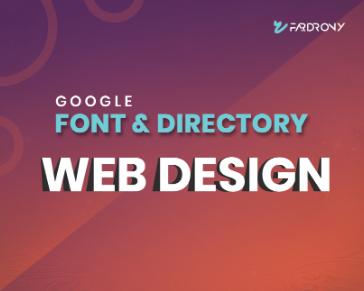 Google Font & Directory