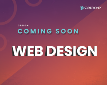 Coming Soon Section Design